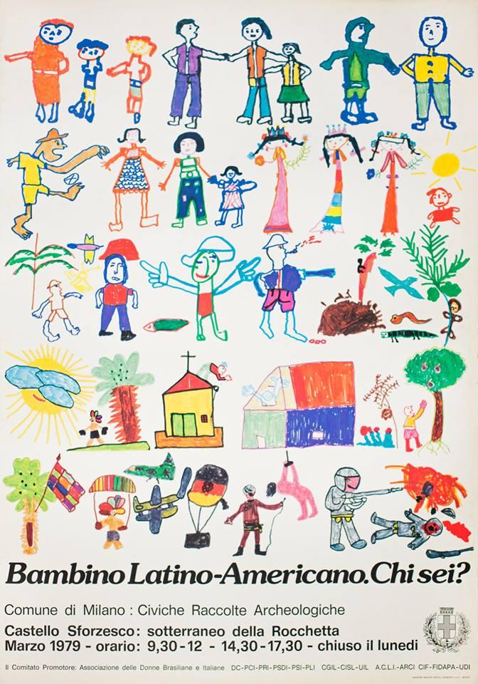 cartaz bambino latino-americano